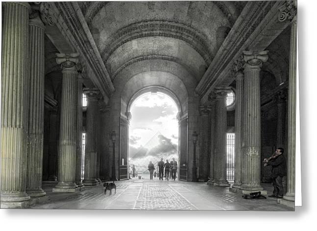 Heavens Gate Greeting Card by Joachim G Pinkawa