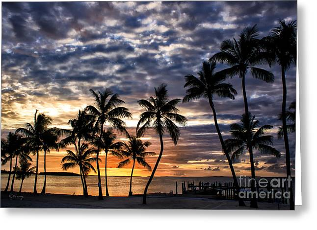 Isla Morada Greeting Cards - Heavens Gate Paradise  Greeting Card by Rene Triay Photography