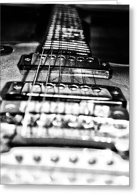 Metal Music Greeting Cards - Heavy Metal Greeting Card by Bill Cannon