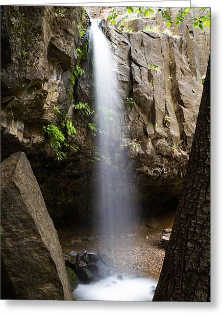 Hedge Creek Falls Greeting Card by Randy Wood