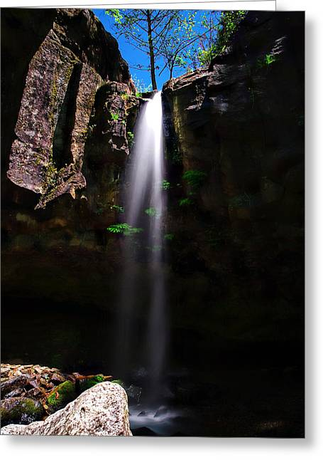 10 Greeting Cards - Hedgecreek Falls Greeting Card by Scott McGuire