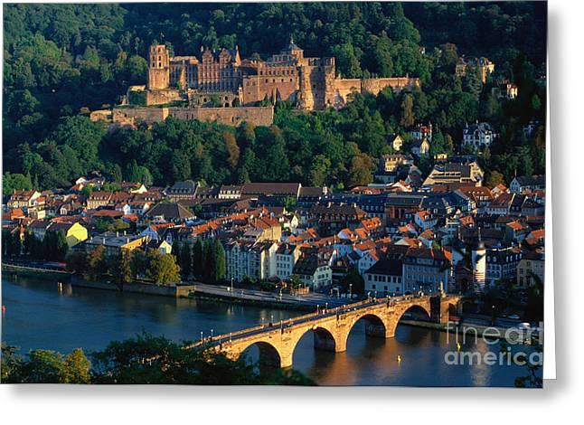 World Destination Greeting Cards - Heidelberg, Germany Greeting Card by Gerhard Pieschel