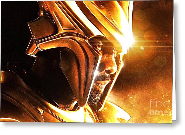 Loki Greeting Cards - Heimdall Greeting Card by The DigArtisT