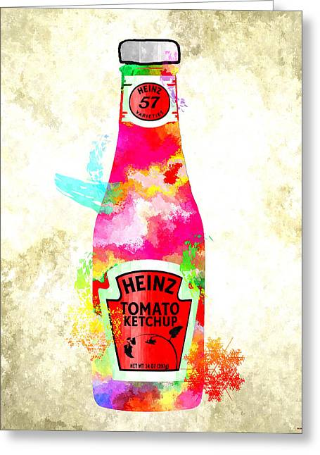 Heinz Ketchup Greeting Cards - Heinz Greeting Card by Daniel Janda