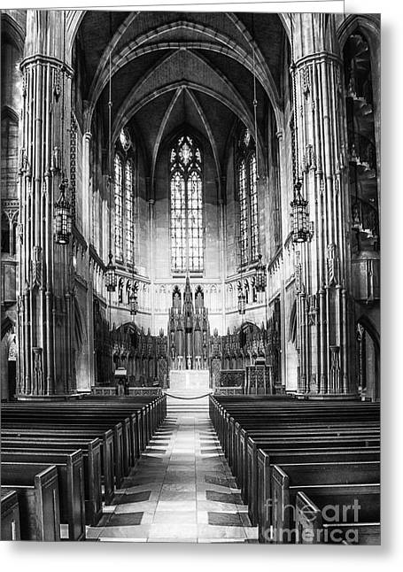 Recesses Greeting Cards - Heinz Memorial Chapel Interior Greeting Card by Thomas R Fletcher
