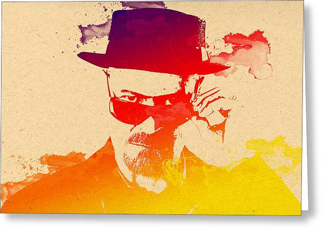 Heisenberg Prints Greeting Cards - Heisenberg -11 Greeting Card by Chris Smith