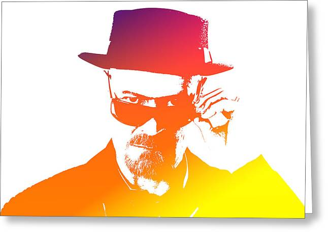 Heisenberg Prints Greeting Cards - Heisenberg -13 Greeting Card by Chris Smith