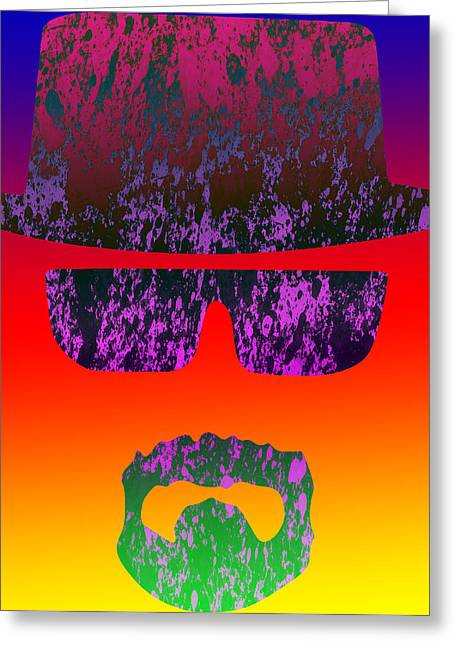 Heisenberg Prints Greeting Cards - Heisenberg - 2 Greeting Card by Chris Smith