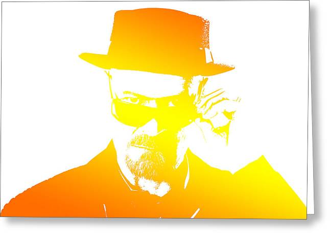 Heisenberg Prints Greeting Cards - Heisenberg - 5 Greeting Card by Chris Smith