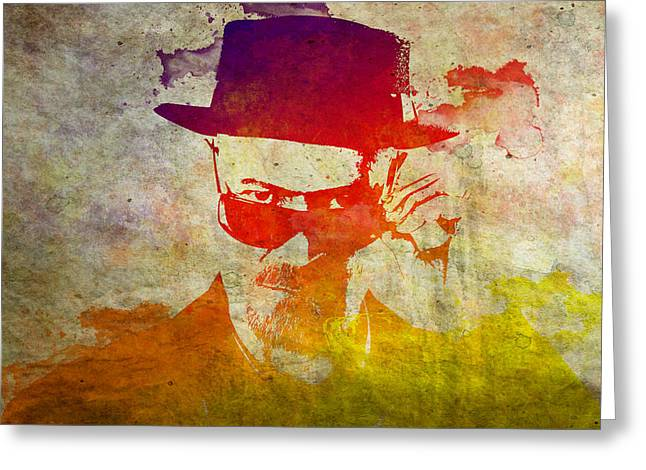 Heisenberg Prints Greeting Cards - Heisenberg - 9 Greeting Card by Chris Smith