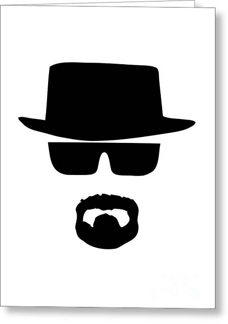 Breaking Bad Greeting Cards - Heisenberg Breaking Bad Greeting Card by Caio Caldas
