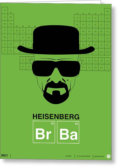 Humor Digital Art Greeting Cards - Heisenberg Poster 2 Greeting Card by Naxart Studio