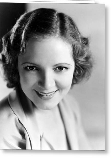 Helen Greeting Cards - Helen Hayes Greeting Card by Silver Screen