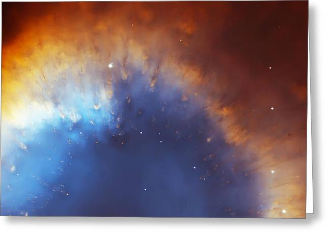 Helix Greeting Cards - Helix Nebula Close Up Greeting Card by The  Vault - Jennifer Rondinelli Reilly