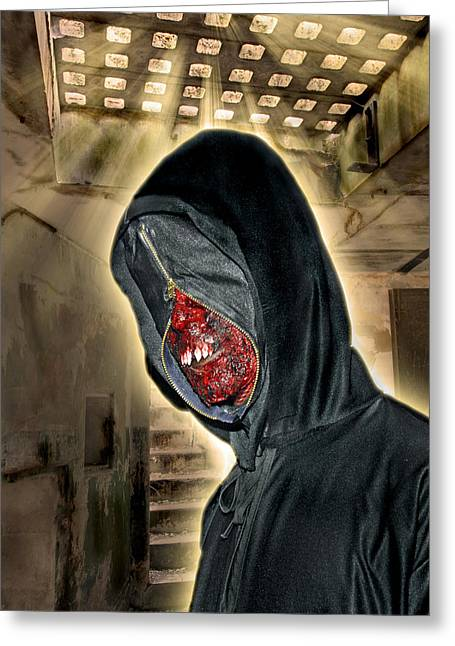 Biological Greeting Cards - Hell Bunker Greeting Card by Gary Keesler
