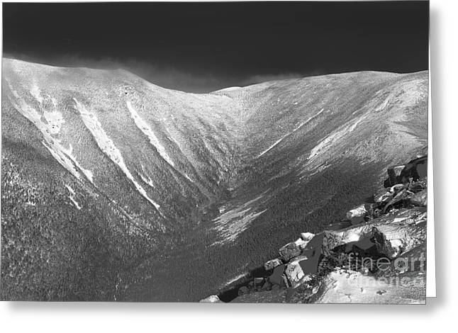 Stormy Weather Greeting Cards - Hellgate Ravine - White Mountains New Hampshire Greeting Card by Erin Paul Donovan