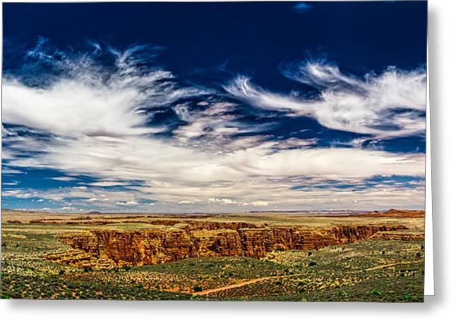 Cliff Lee Greeting Cards - Hellhole Bend Greeting Card by Chris Bordeleau