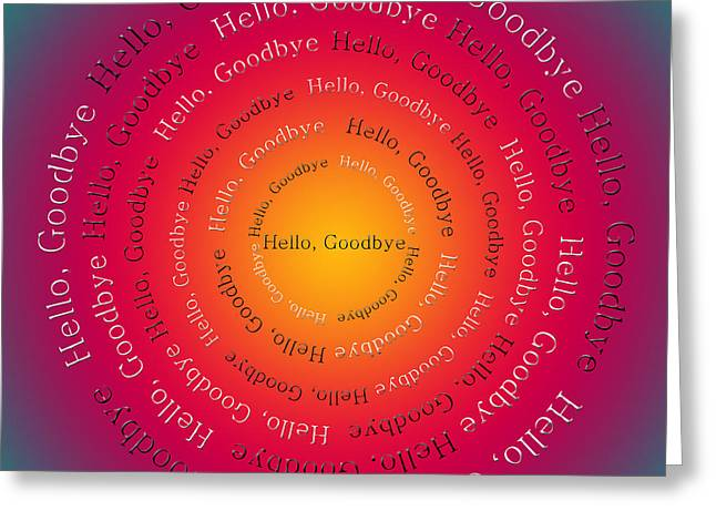 Ringo Starr Greeting Cards - Hello Goodbye 2 Greeting Card by Andee Design