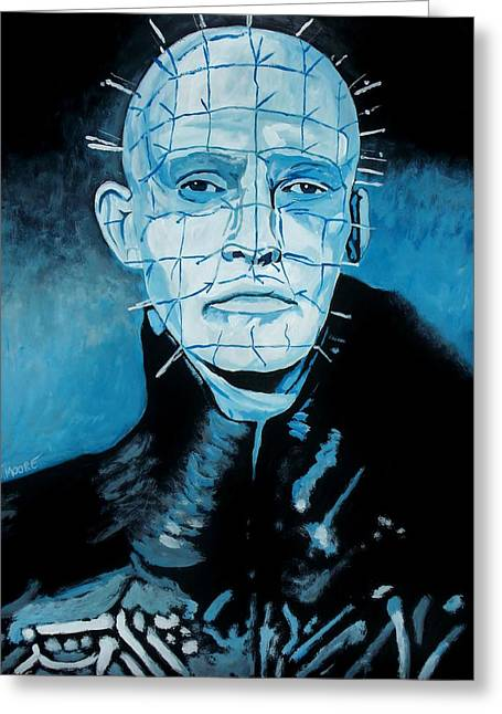 Pinhead Greeting Cards - Hellraiser Greeting Card by Jeremy Moore