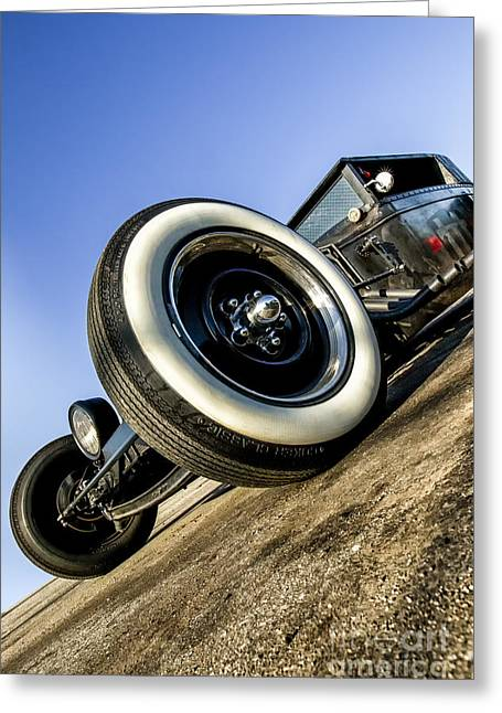 Custom Automobile Greeting Cards - Helltrain- Zane Cox Greeting Card by Holly Martin