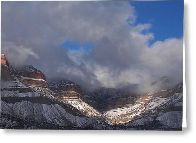 Southern Utah Greeting Cards - Helper Utah View Greeting Card by James Boyd