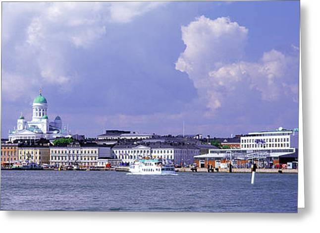 Helsinki Finland Greeting Cards - Helsinki, Finland Greeting Card by Panoramic Images