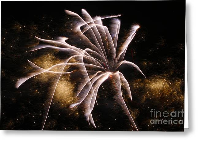 Pyrotechnics Greeting Cards - Helter Skelter Greeting Card by Rick Bravo