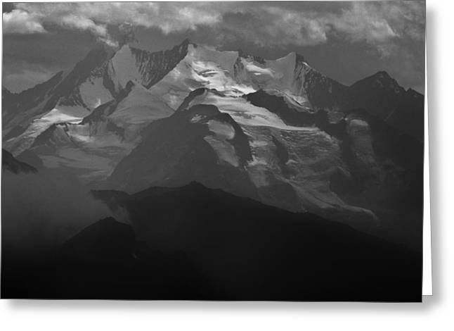 Valais Canton Greeting Cards - Helvetia Greeting Card by David Broome