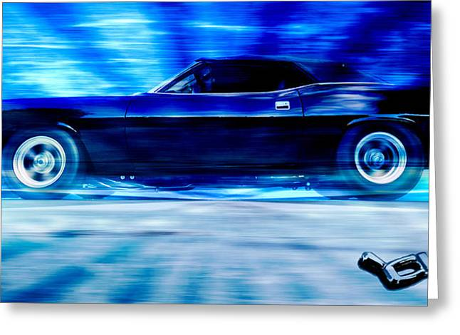 Phil Motography Clark Greeting Cards - Hemi Cuda Greeting Card by Phil
