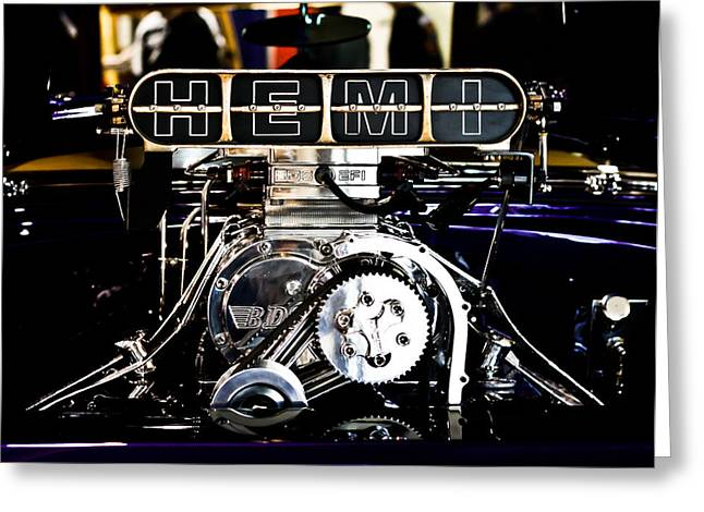 Hemi Greeting Cards - Hemi Greeting Card by Merrick Imagery