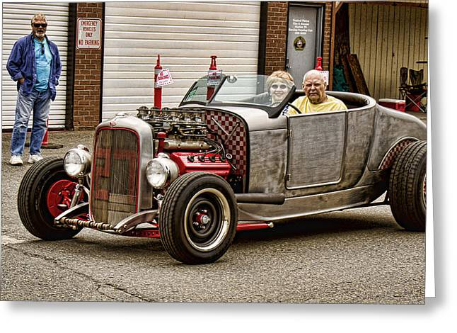 Ron Roberts Photography Photographs Greeting Cards - Hemi Rat Greeting Card by Ron Roberts