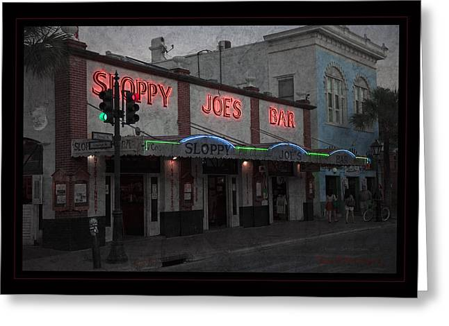 Landmark Posters Greeting Cards - I Heard I Was In Town Greeting Card by John Stephens