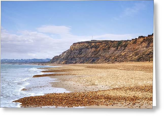 Dorset Greeting Cards - Hengistbury Head Greeting Card by Joana Kruse