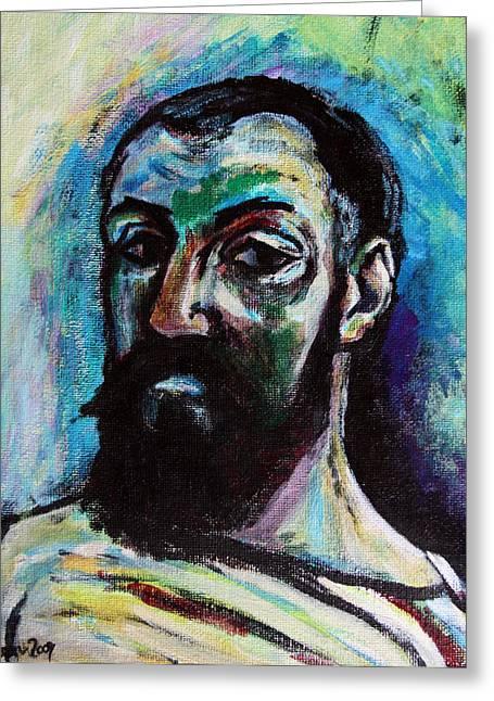 Art In Acrylic Greeting Cards - Henri Matisse Greeting Card by Karon Melillo DeVega
