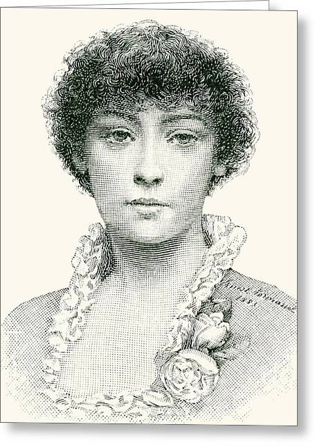 Emma Greeting Cards - Henrietta Emma Ratcliffe Rae, 1859 – 1928. Prominent English Painter Of The Later Victorian Era Greeting Card by Bridgeman Images