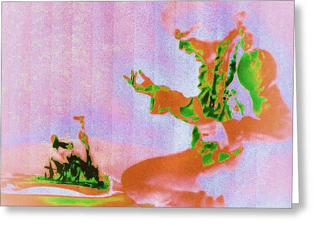 Vodoo Greeting Cards - Henrix  Greeting Card by Dan Twyman
