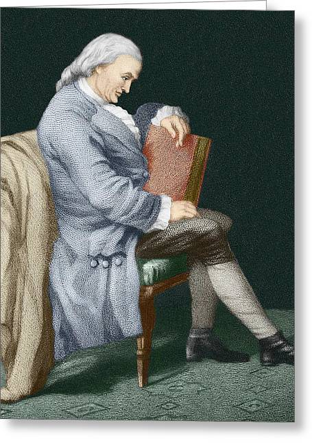 Henry Cavendish Greeting Card by Sheila Terry