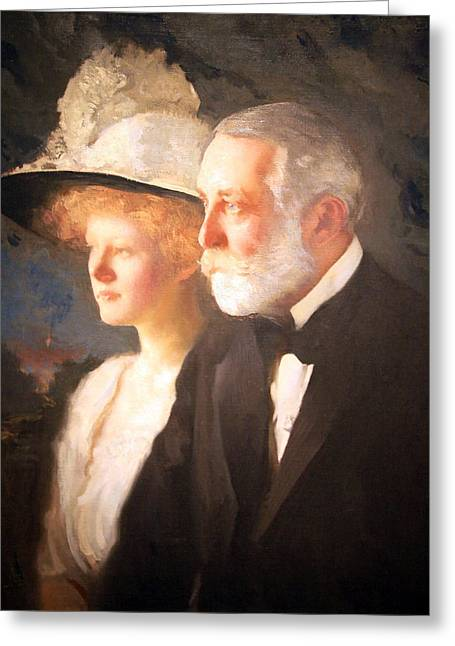 Carnegie Museum Greeting Cards - Henry Clay Frick Greeting Card by Cora Wandel