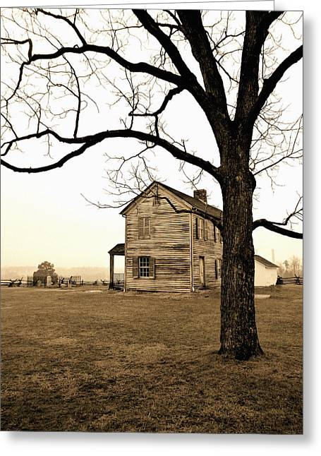 Slavery Greeting Cards - Henry Farm House Greeting Card by Kevin D Davis