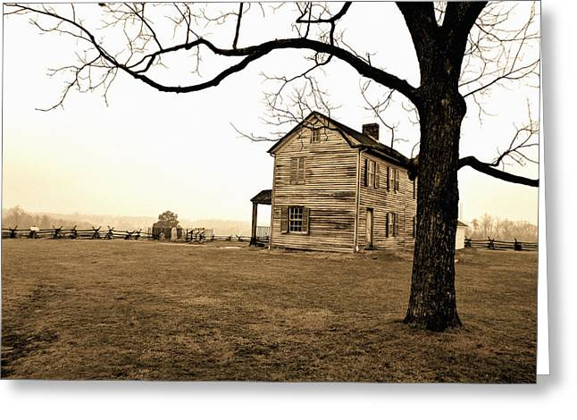Slavery Greeting Cards - Henry Farmhouse III Greeting Card by Kevin D Davis