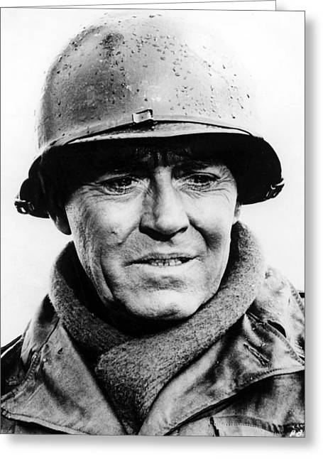Battle Greeting Cards - Henry Fonda in Battle of the Bulge  Greeting Card by Silver Screen