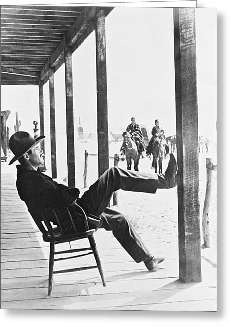 Darling Photographs Greeting Cards - Henry Fonda in My Darling Clementine  Greeting Card by Silver Screen