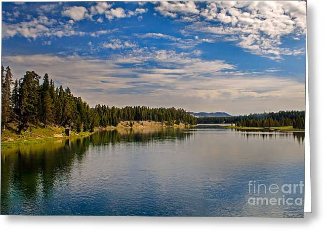 Scenic River Photography Greeting Cards - Henry Fork of Snake River II Greeting Card by Robert Bales