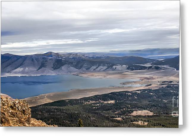 Henry Lake Greeting Card by Robert Bales
