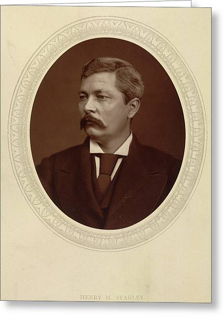 Henry M. Stanley Greeting Card by British Library