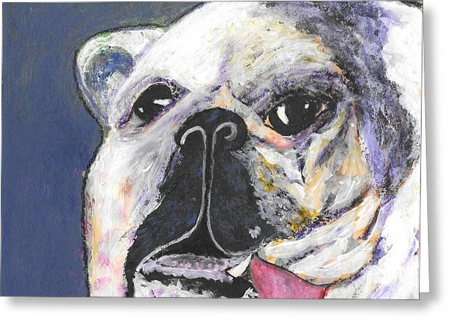 Lisa Noneman Greeting Cards - Her Name Is Lola Greeting Card by Lisa Noneman