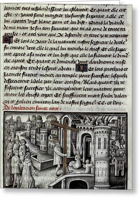 Heraclius (c575-641) Greeting Card by Granger