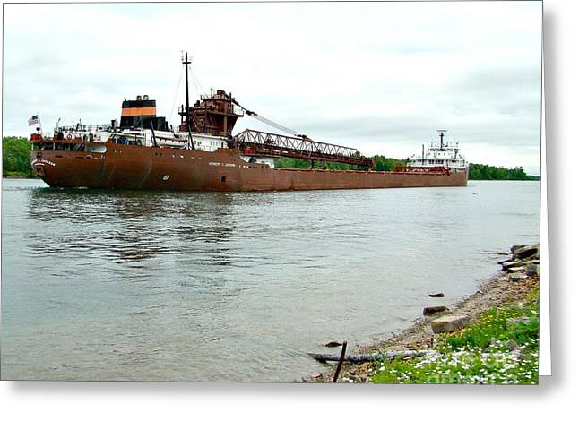 Recently Sold -  - Water Vessels Greeting Cards - Herbert C Jackson Greeting Card by Tom Geiger