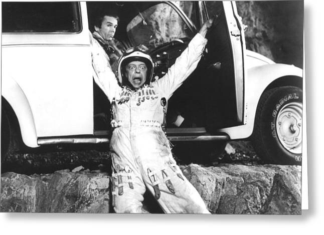 Don Knotts Greeting Cards - Herbie Goes to Monte Carlo  Greeting Card by Silver Screen