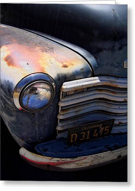 Old Trucks Greeting Cards - Herbies Father Greeting Card by Donna Blackhall